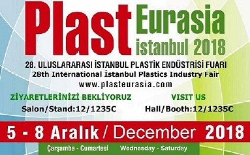 Plast Eurasia Istanbul 2018 Uluslararası Plastik Endüstrisi Fuarı